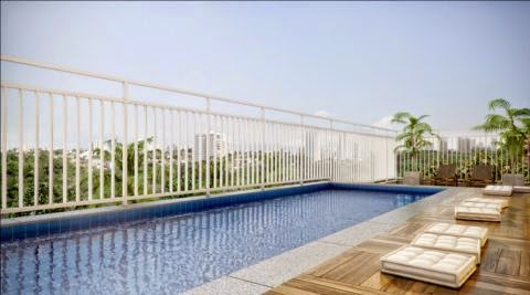 apartamento com piscina barra funda