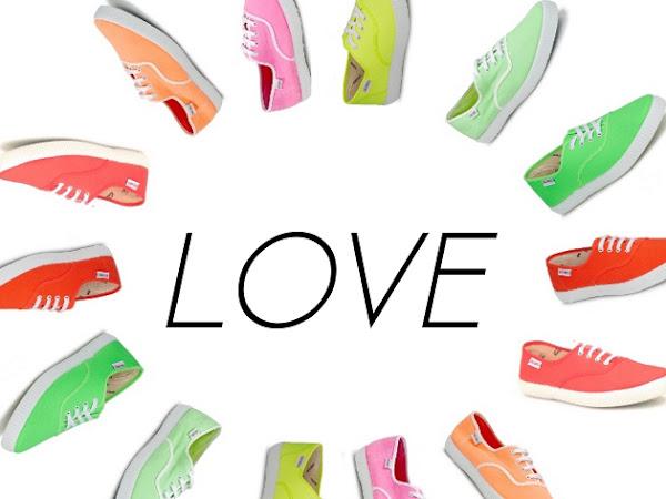 Rainbow of Sneakers