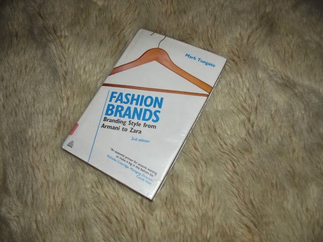 fashion brands book, mark tungate, branding style from armani to zara, 2nd edition, fashion student book, fashion marketing resources, book review,
