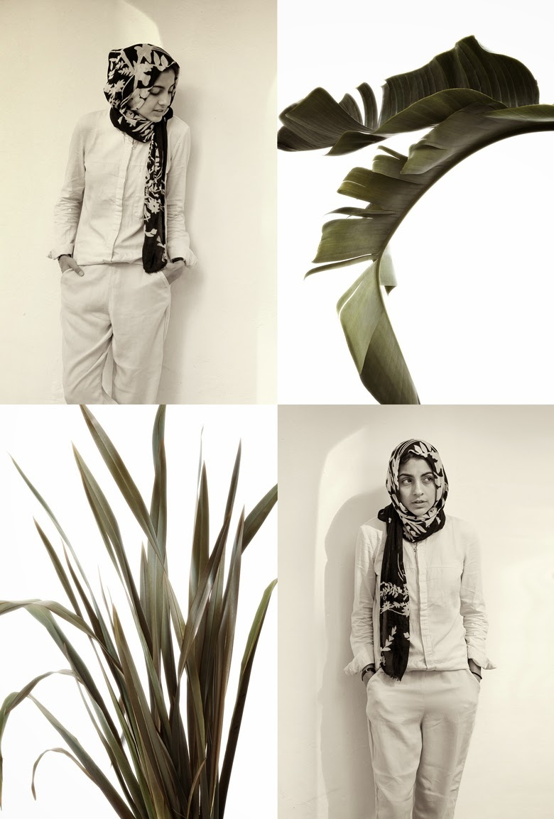 JooJoo Azad, Zara ss14 campaign, hijab zara, morocco fashion