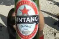 Beer Bintang and Bali Beach