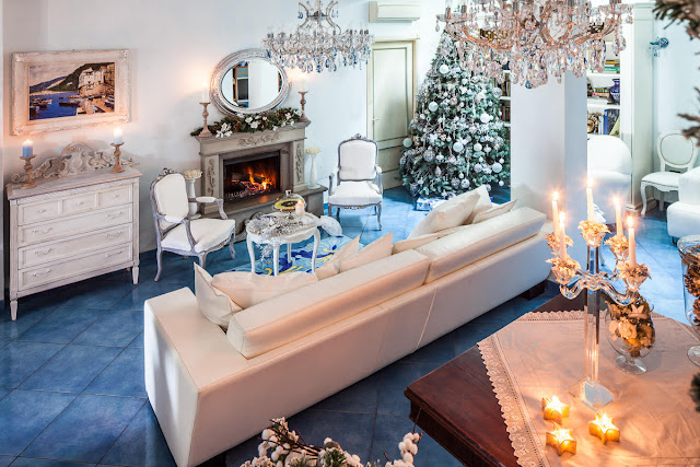 Shabby and charme il magico natale a casa della decoratrice d 39 interni marina bellanti - Decoratrice di interni ...