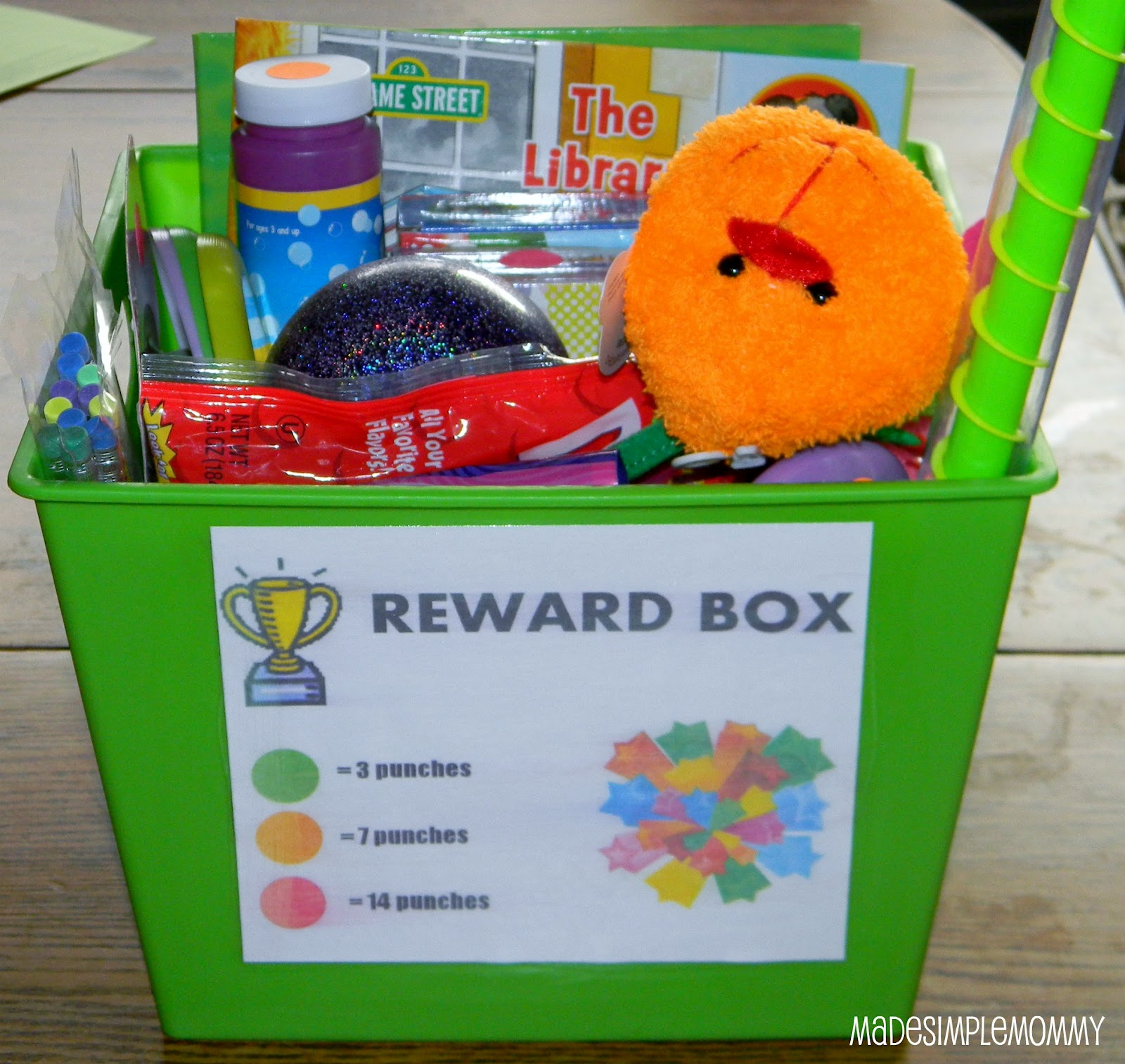 children rewards charts