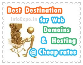 www.infoexpo.in --Best Domain registration and web hosting company of 2013