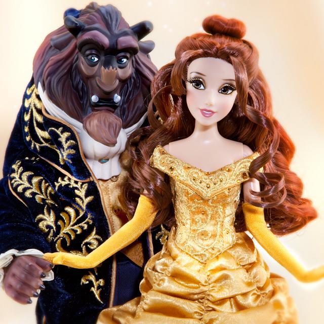 muñeca fairytale bella y bestia