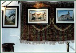 Artes plásticas: Esculturas, pinturas, quadros, painéis e camisetas exclusivas pintadas à mão
