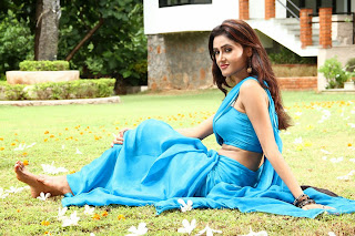 Sony Charistha in Blue Spicy Pics