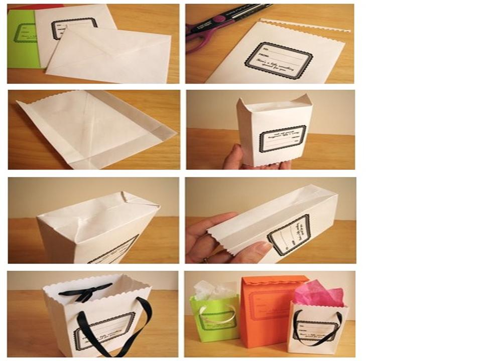 Ngel ecol gico como hacer bolsas de papel - Hacer bolsas de papel en casa ...