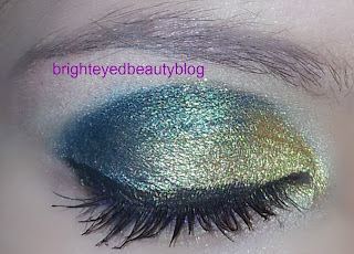 Bright Bold Eye Look using the Vice Palette