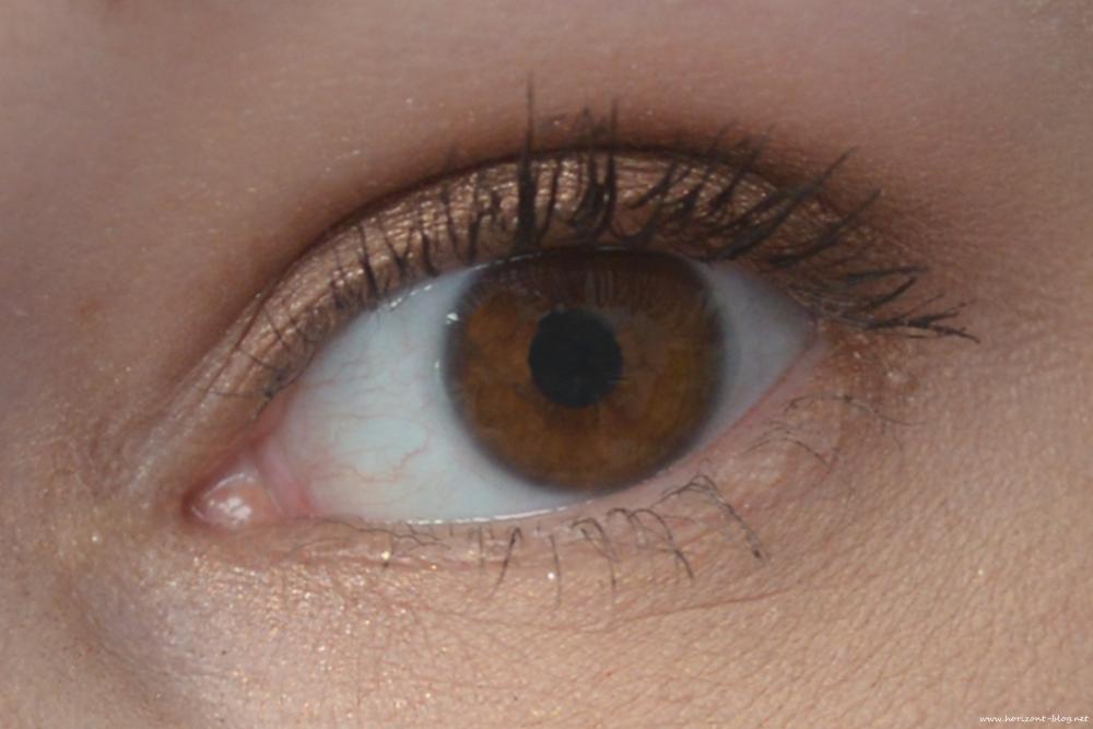 Make-Up mit der Nude Lidschatten Palette Accentra ac