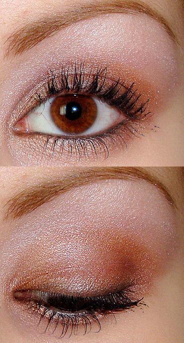 365 Days of Makeup, Brown Eyes, Evening Makeup, glitter