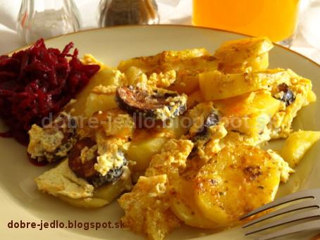 Zapekané zemiaky II - recepty