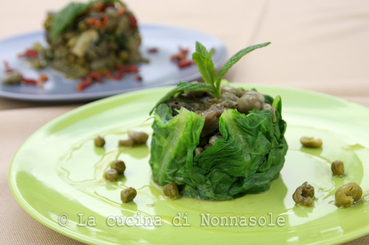 La cucina di nonna sole vignarola romana vegetariana e non for La cucina romana