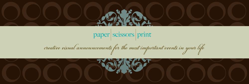 paper scissors print