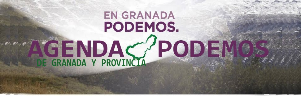 AGENDA DE PODEMOS GRANADA
