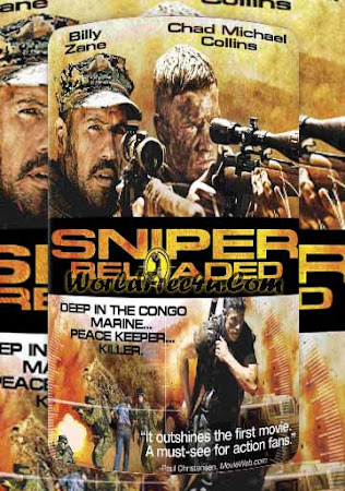 Poster Of Sniper: Reloaded In Dual Audio Hindi English 300MB Compressed Small Size Pc Movie Free Download Only At btc24.org