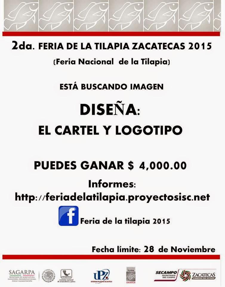 Feria nacional de tilapia Zacatecas 2015