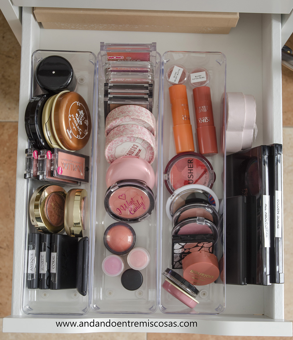 Organización de maquillaje 6