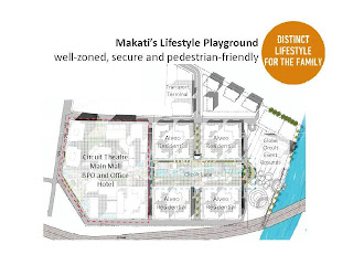 Solstice Makati Site Development Map