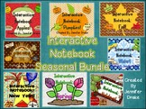 http://www.teacherspayteachers.com/Product/Interactive-Notebook-Seasonal-Holidays-BUNDLE-8-Full-Packs-for-PreK-1-1310657
