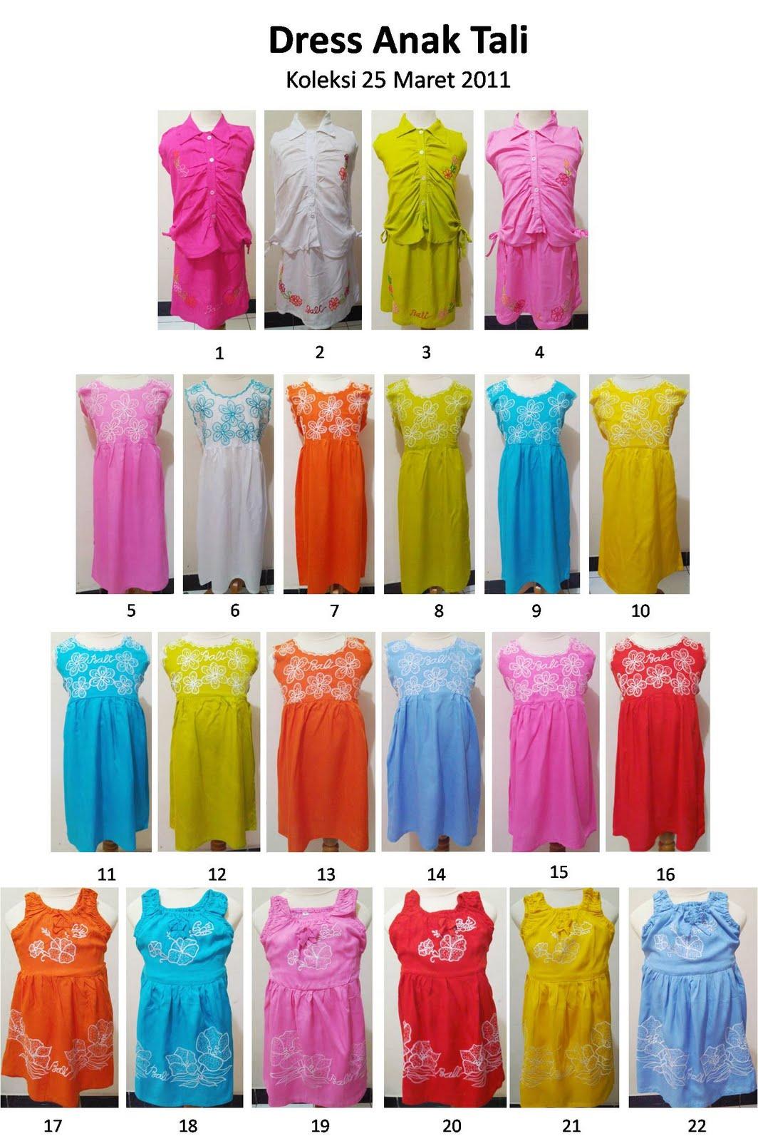 Dress Anak Bordir (Newarr)