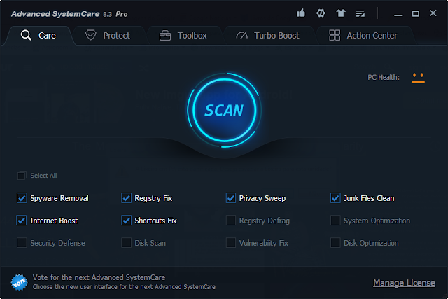 Advanced SystemCare PRO 8.4.0.810 Final - Full Version
