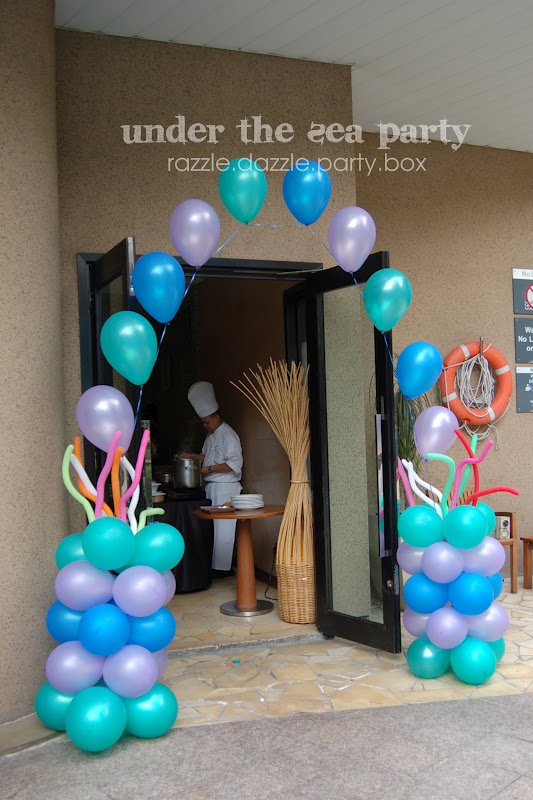 Razzle Dazzle Party Box Theme Birthday Party Under The Sea