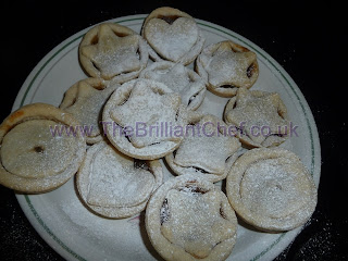 The Brilliant Chef's really easy tasty mince pies