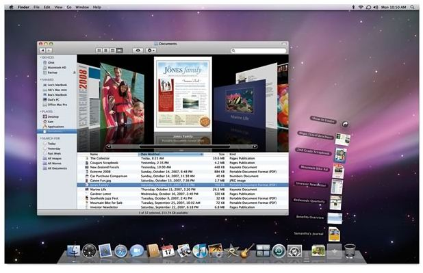 Mac OS Theme Windows 7