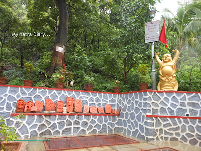 The entrance of the Jagmata Temple - Tungareshwar temple in Vasai, Mumbai