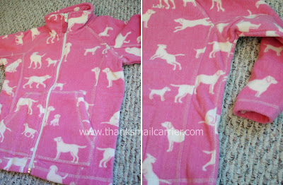 Hatley fleece jacket