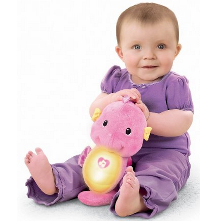 Get the for Fisher-Price Ocean Wonders Soothe and Glow Seahorse (in Pink) $9.10! (Reg. $17)