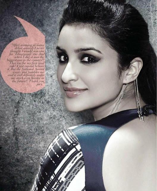 Parineeti Chopra's ANDpersand Magazine Photoshoot