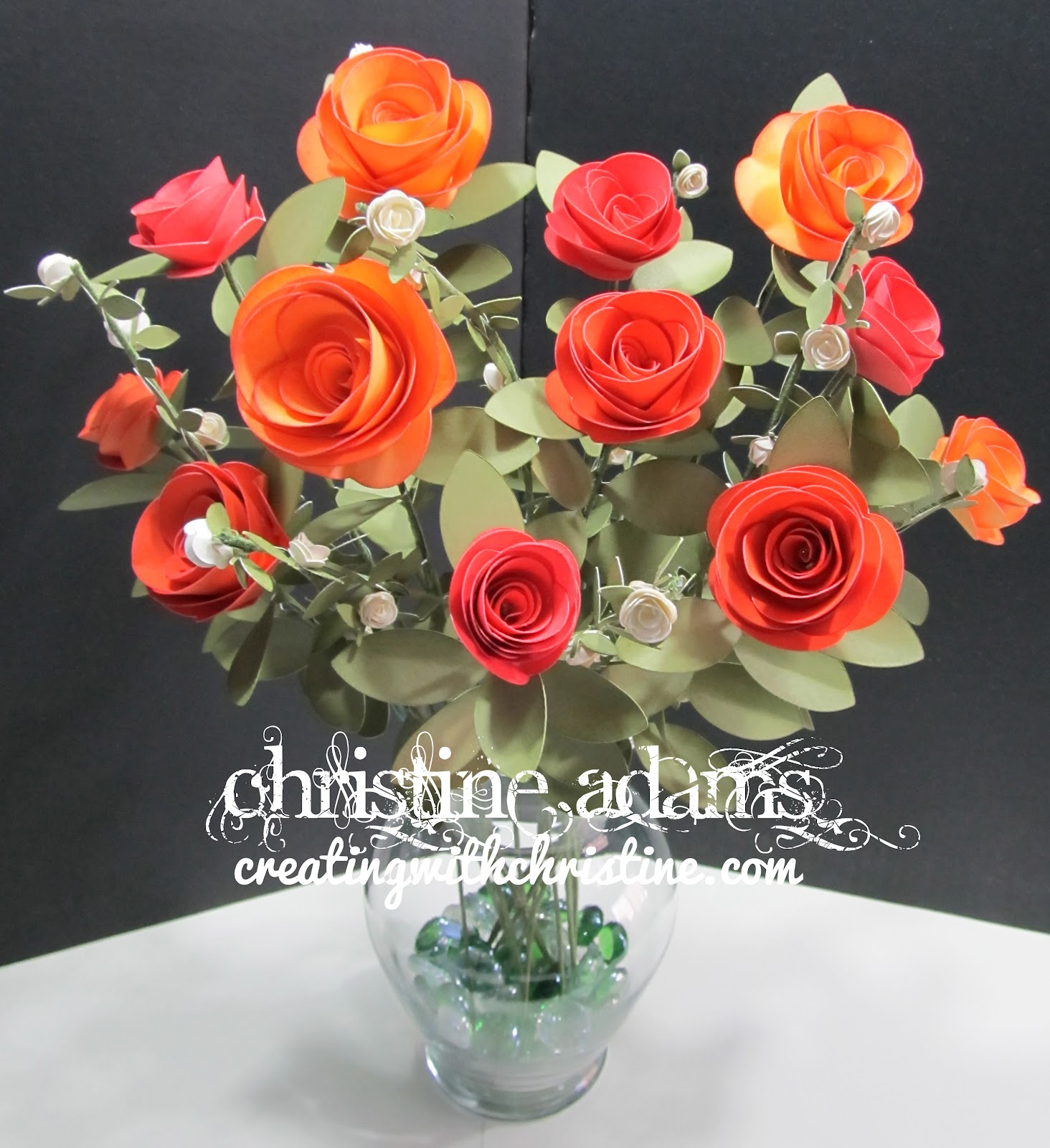 how to make cricut paper roses