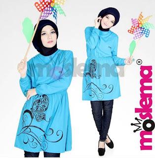 Trend Baju Muslim Kaos Lebaran untuk Remaja