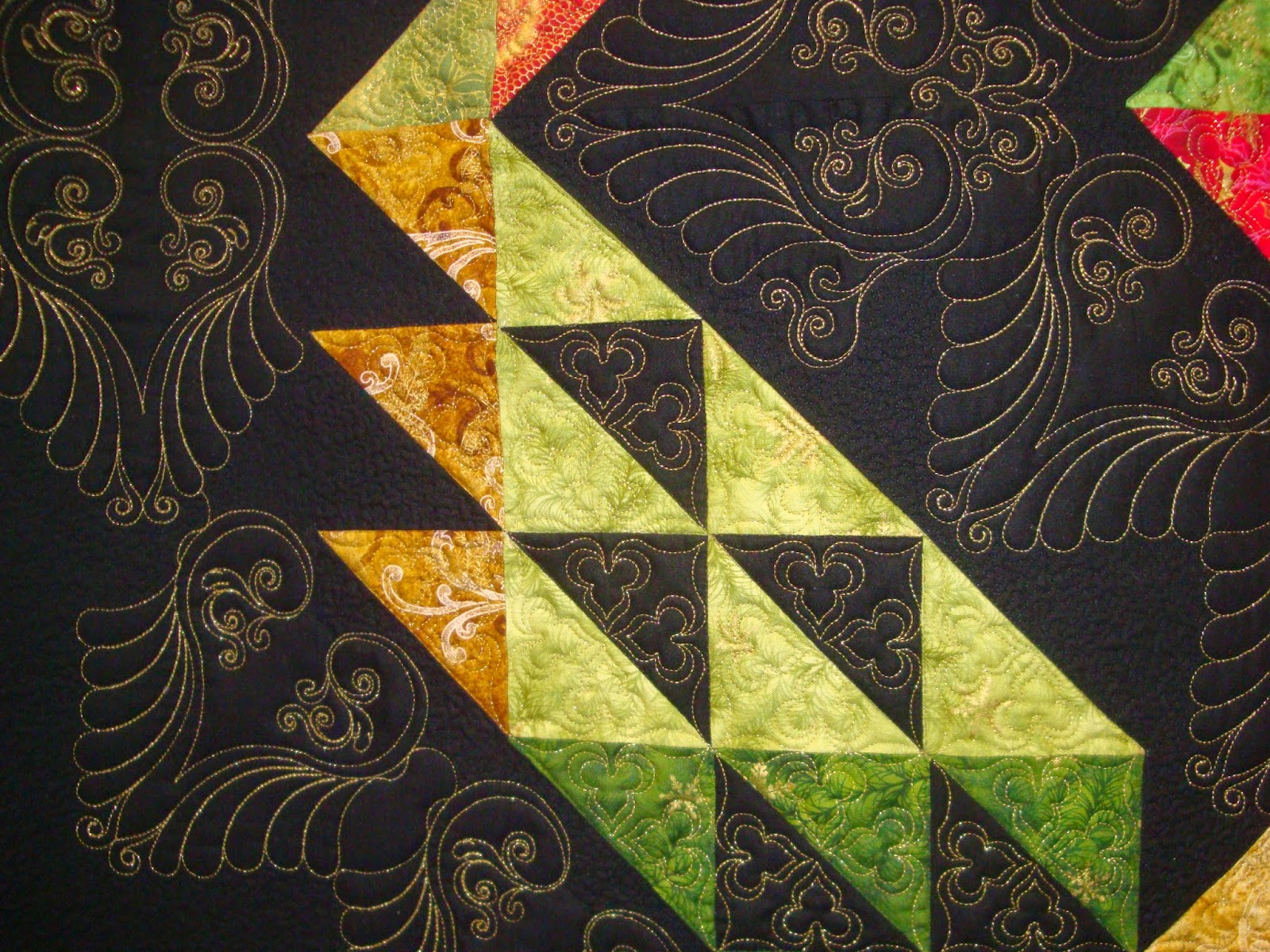 FABRIC THERAPY: 2014 AQS Chattanooga Show, Part Three...