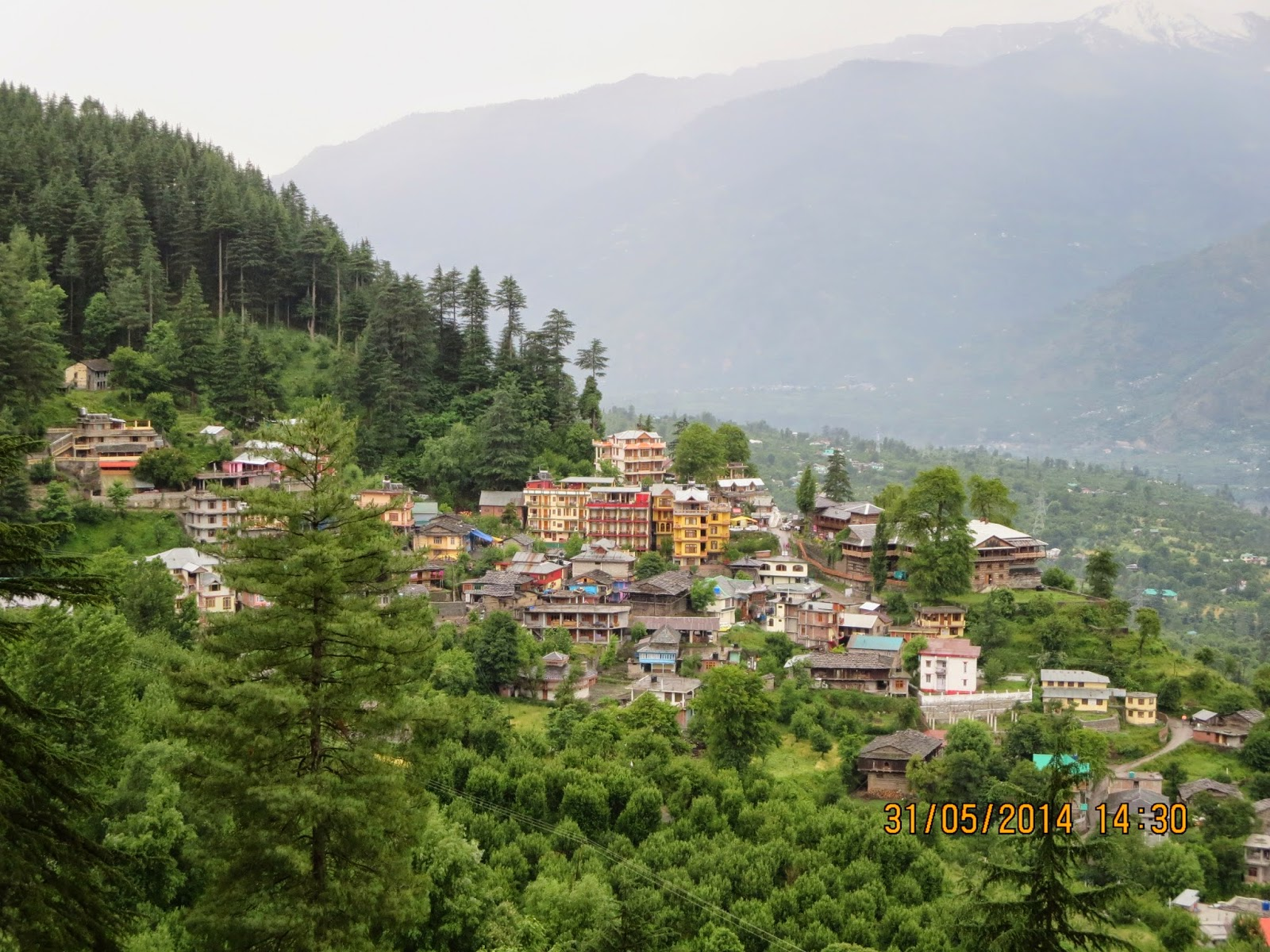 Manali - A small village