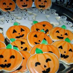 Halloweenkekse