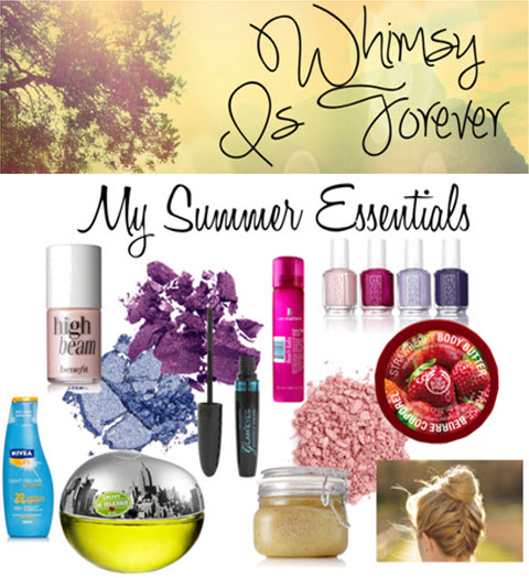 Beauty summer must haves