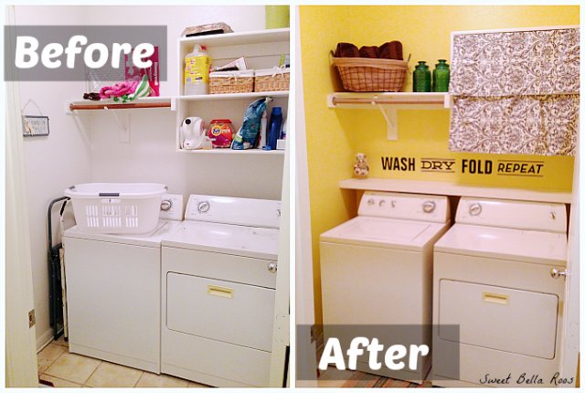 lifestyle diy small laundry room organization ideas