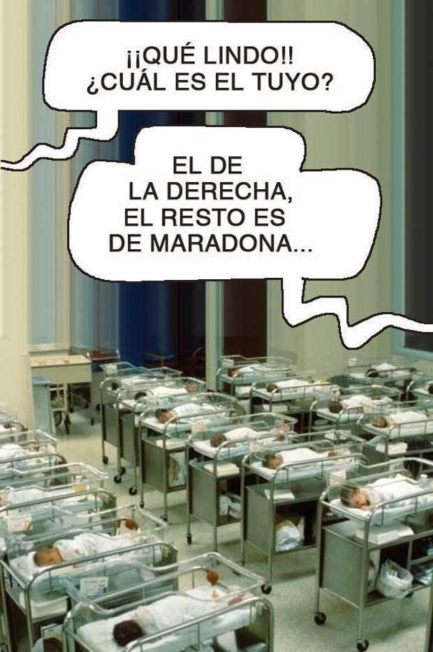 Maradona sigue dejando hijos