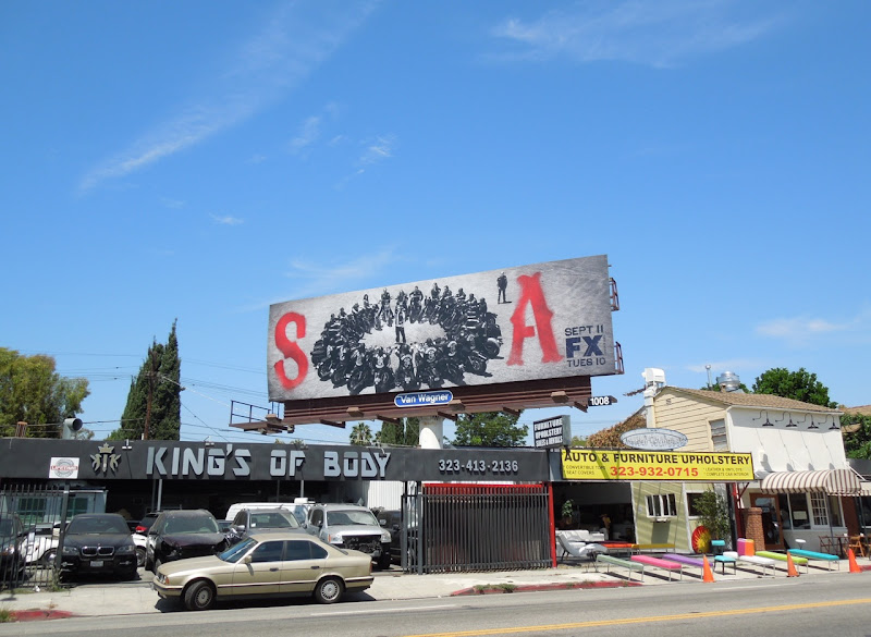 Sons Anarchy season 5 billboard