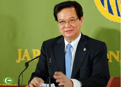 Thủ tướng Nguyễn Tấn Dũng: Quan hệ Việt Nam – Nhật Bản đang có sự phát triển mạnh mẽ và toàn diện