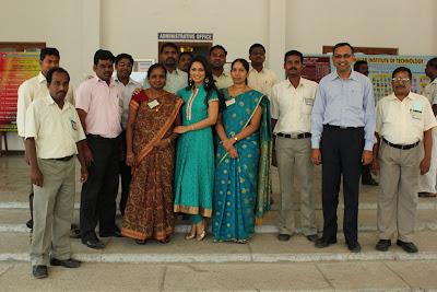 pooja in panimalar college unseen pics