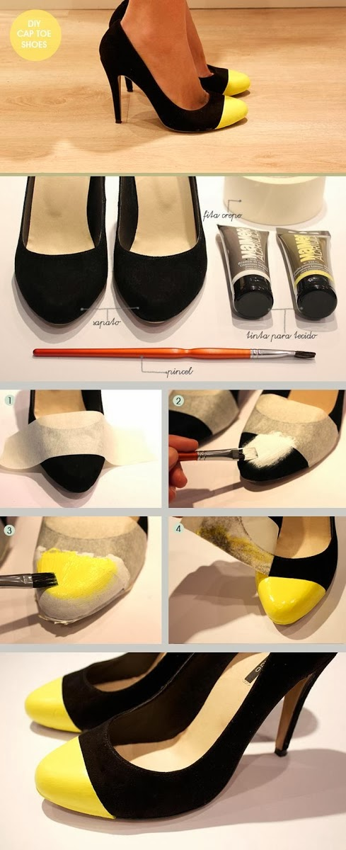 DIY Make Your Own Cap Toe!