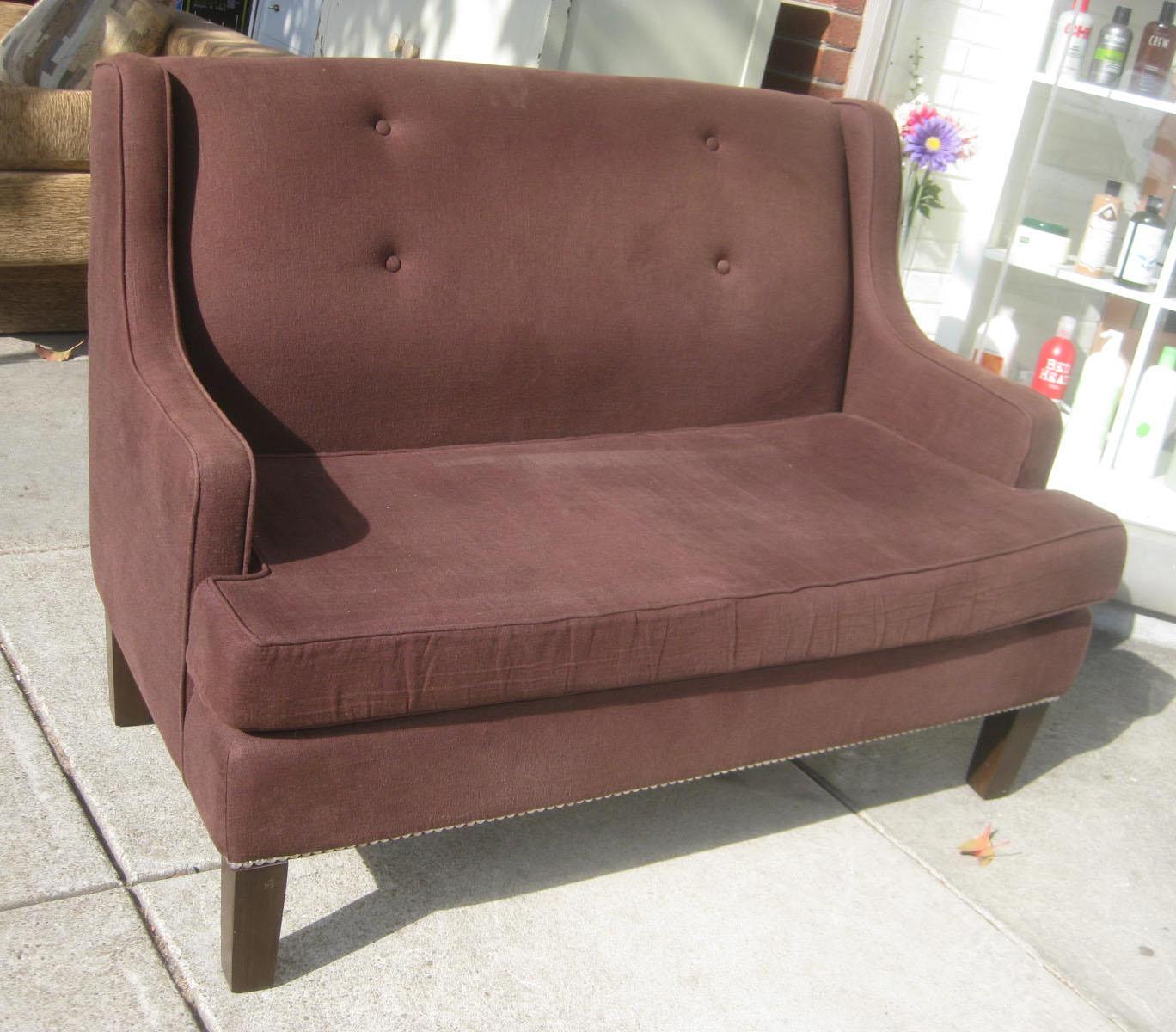 Uhuru Furniture Collectibles Sold High Back Loveseat 65