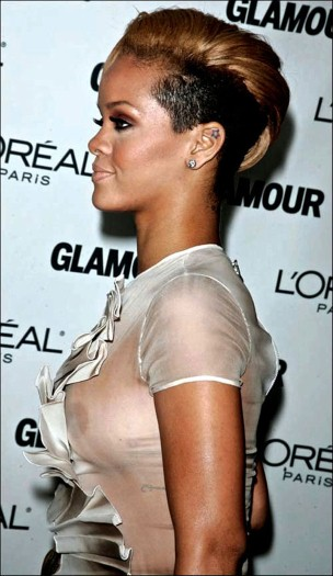 Rihanna See Through Boobs Photos