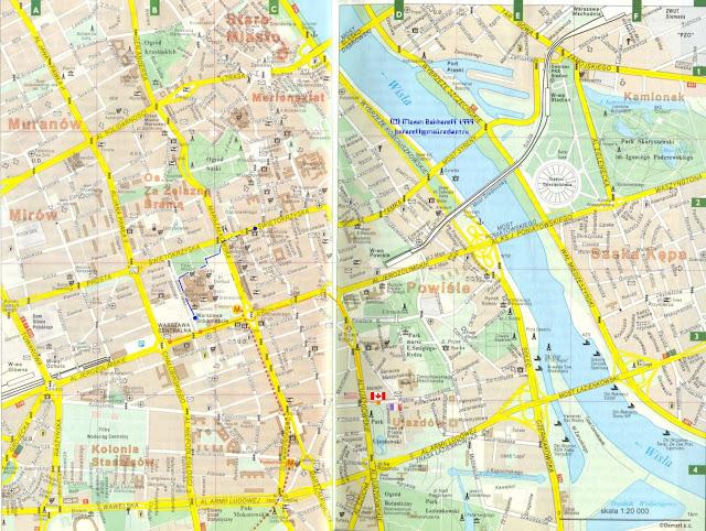 Технология карта варшавы с улицами и районами сутки, выходные, свадьбу