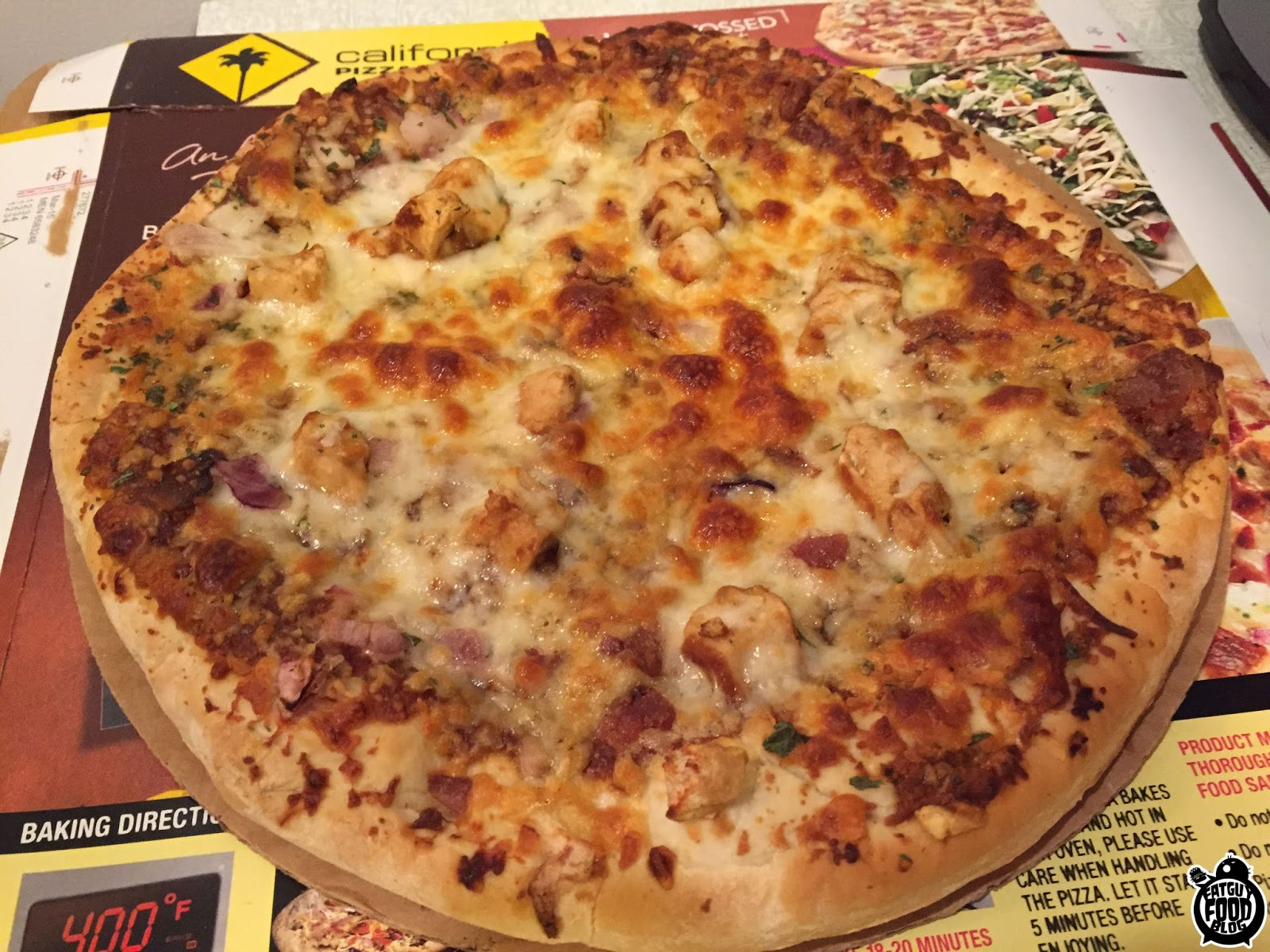 California Pizza Kitchen Frozen Review