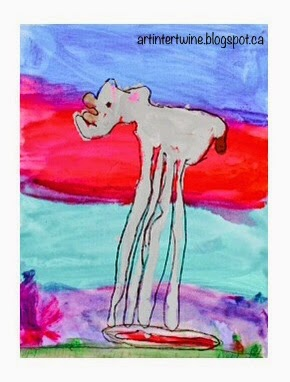 Art Intertwine - Salvador Dali Elephants